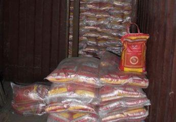 ۴۱ تن برنج قاچاق در مازندران کشف شد