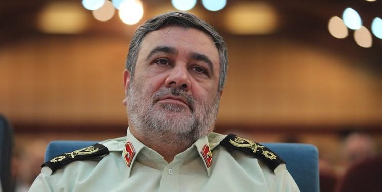 ترور فرمانده ناجا صحت ندارد