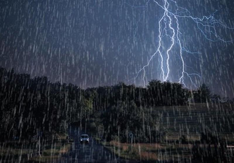 پیش بینی باران ۳ روزه در ۱۱ استان