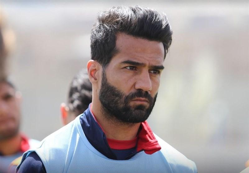 مسعود شجاعی در تمرینات تیم تراکتور شرکت کرد