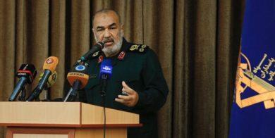 سردار سلامی: مقیاس عمل اطلاعات سپاه کل نظام و انقلاب و جغرافیای تهدید علیه ایران است