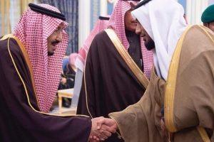 مقتول و شاه سعودی