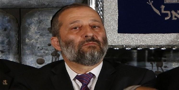 وزیر صهیونیست از بیم موشک مقاومت در پناهگاه + عکس