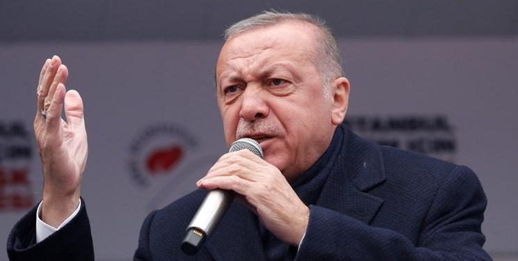 اردوغان: امتناع آمریکا از تحویل «اف-۳۵» یک نوع «دزدی» است