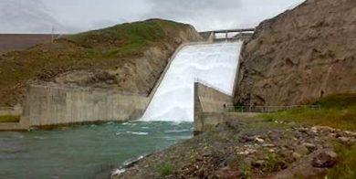 سد طالقان سرریز شد/ افزایش دبی آب در رودخانه شاهرود از فردا