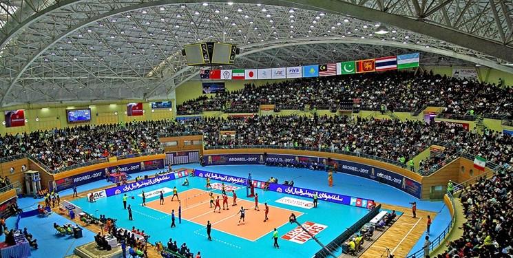 فروش بلیط مسابقات والیبال لیگ ملتهای جهان در اردبیل