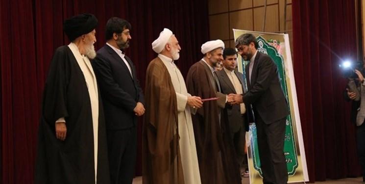 آئین تکریم و معارفه رییس کل دادگستری استان اردبیل برگزار شد