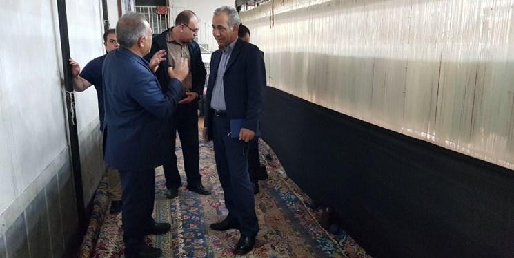 کم نظیرترین فرش ریزبافت جهان در تبریز رونمایی میشود