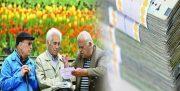 مابه التفاوت حقوق فروردین بازنشستگان در خرداد پرداخت می شود