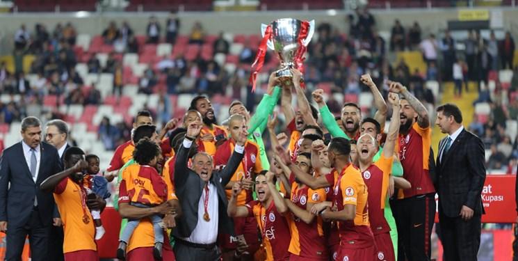 گالاتاسارای قهرمان جام حذفی ترکیه شد