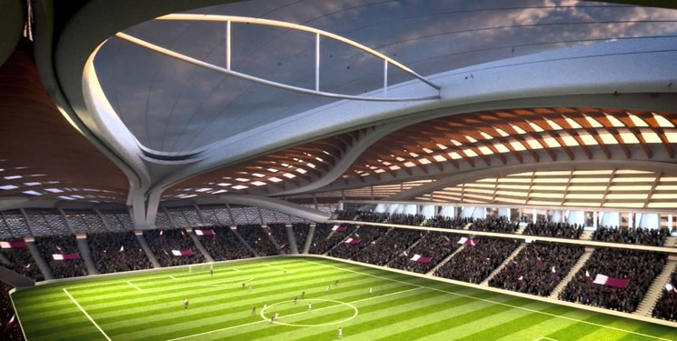 نخستین ورزشگاه جام جهانی ۲۰۲۲ امروز افتتاح میشود