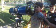 آشنایی کودکان ارومیه با علم نجوم
