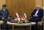 دیدار وزیر خارجه عمان با ظریف در تهران