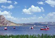 قایقرانی در ارتفاعات اَرَک ترکیه + عکس