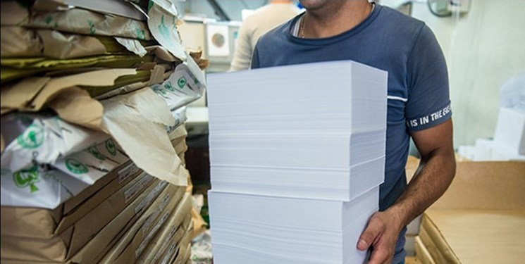 کشف کاغذهای احتکار شده در اردبیل