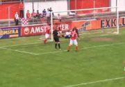 فوتبال جهان| گلزنی یک داور در لیگ هلند!