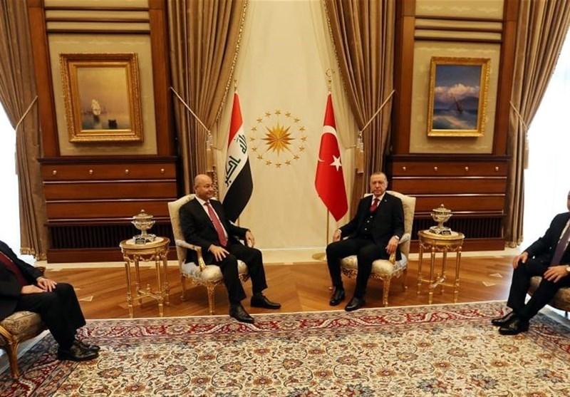 در دیدار روسای جمهور عراق و ترکیه چه گذشت؟