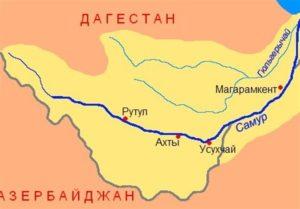 روسیه و آذربایجان پروتکلی برای تقسیم منابع رودخانه سامور امضا کردند