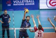 لیگ ملتهای والیبال-خرسهای سه رنگ درچنگال یوزهای ایرانی/خط ونشان کشیدن ایران برای رقبادرمرحله نهایی