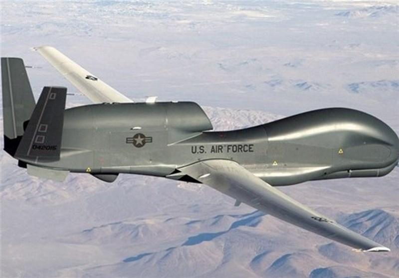 مبدأ پهپاد آمریکایی شکارشده توسط سپاه کشور امارات بوده است/ انتشار فیلم انهدام پهپاد