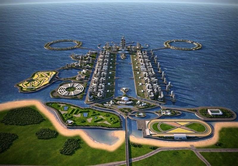 مطالعه امکان سنجی توسعه جزایر مصنوعی در دریای خزر از سوی جمهوری آذربایجان
