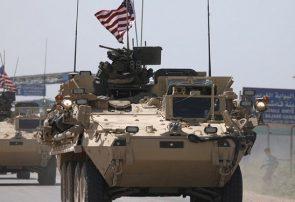 انفجار بمب در مسیر کاروان نظامیان آمریکا در شرق سوریه