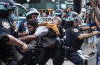 بازداشت بیش از ۲۵۰۰ نفر در اعتراضات آمریکا