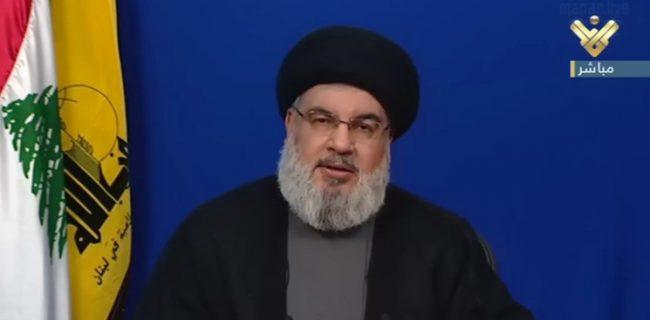 سید حسن نصرالله: اگر اسرائیل با انفجار بیروت مرتبط باشد، در همان حجم تاوان خواهد داد