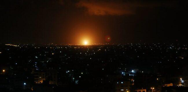 انفجار موشک در نزدیکی تأسیسات اتمی «دیمونا» در فلسطین اشغالی