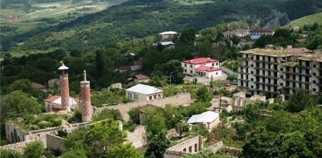 قره باغ| تخریب ۱۱ مسجد در شهر «شوشا» در زمان اشغال