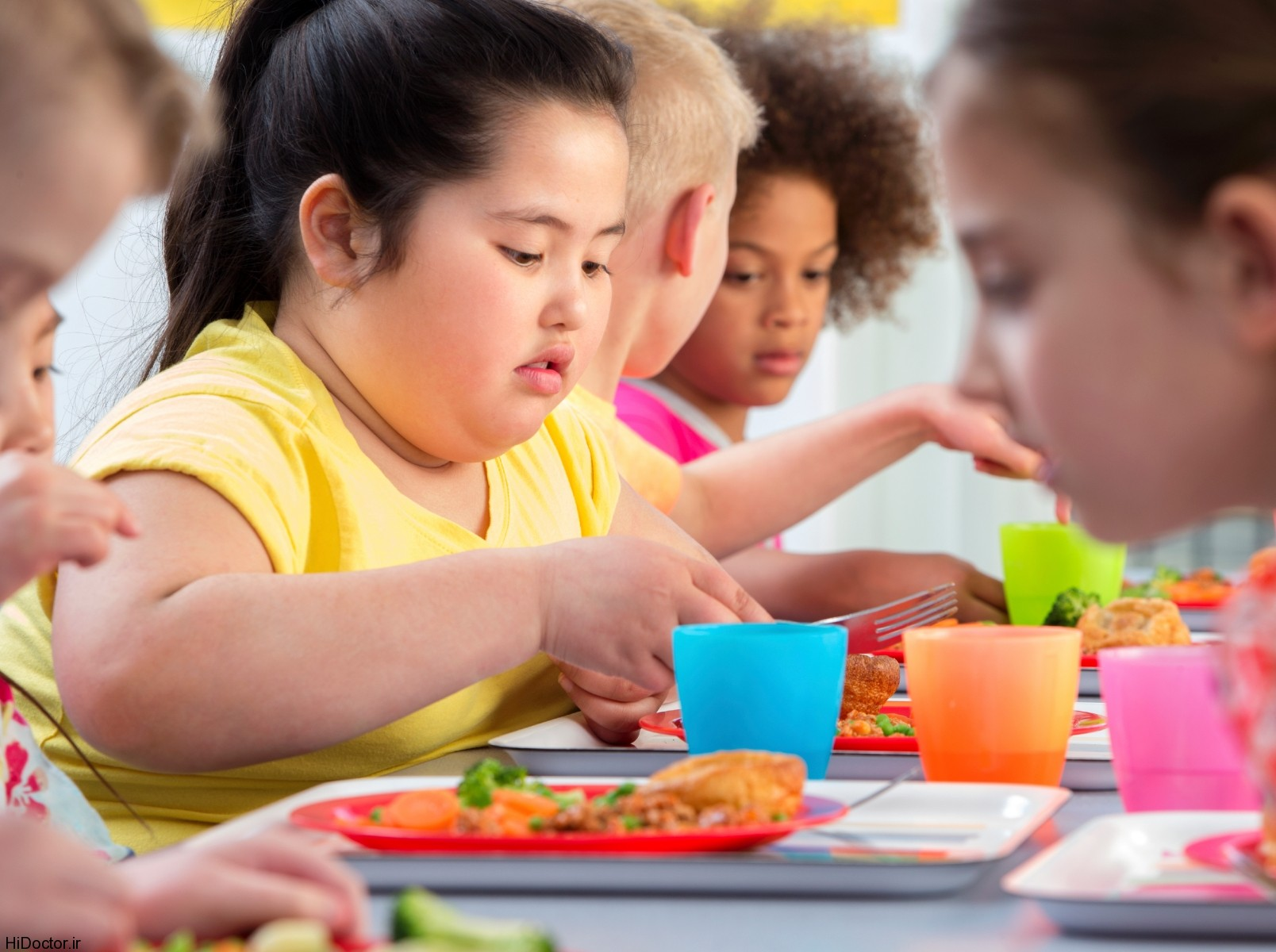 چاقی کودکان معضل اصلی اجتماعی