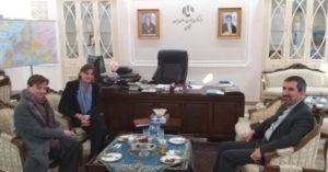 دیدار رییس دفتر صلیب سرخ جمهوری آذربایجان با سرکنسول ایران