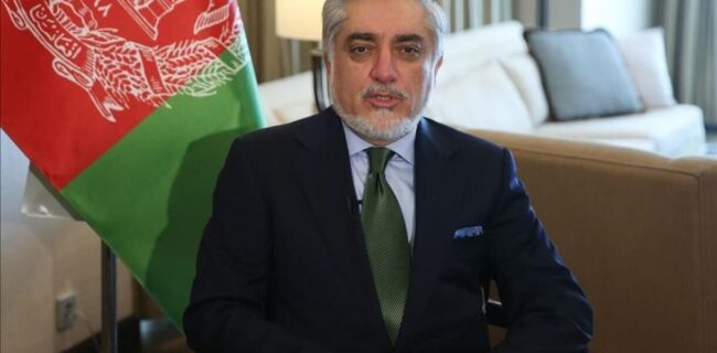 قدردانی عبدالله از حمایت ظریف از توافق سیاسی در افغانستان