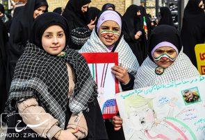 راهپیمایی ۲۲ بهمن مردم تبریز در آستانه ۴۱ سالگی انقلاب اسلامی