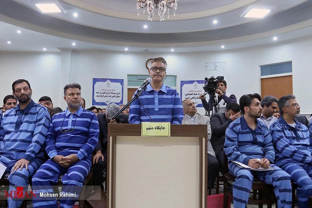 ششمین دادگاه متهمان پدیده