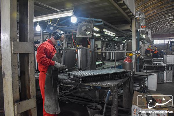 آذر یانار ایستی سو صادر کننده رادیاتورهای پنلی شد/صرف فعل«توانستن» در کارخانه رادیاتورهای پنلی