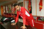 تصویری از عقد قرارداد مدافع پرسپولیس با باشگاه الریان