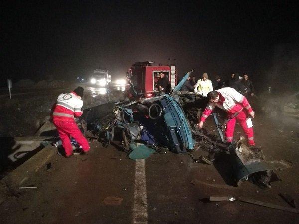 هر نیم ساعت یک ایرانی در تصادف کشته می شود