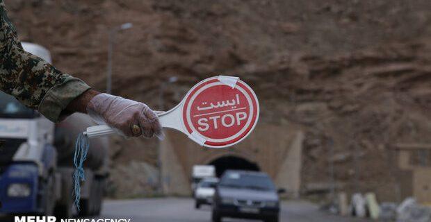 کنترل تردد خودروها در ۱۱ محور ارتباطی آذربایجان شرقی