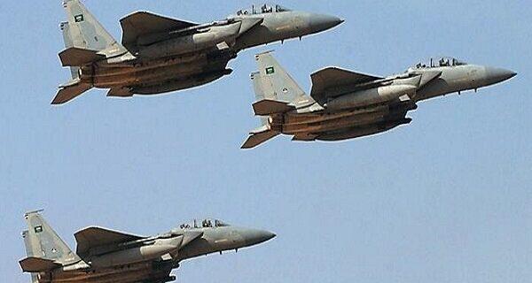 حمله جنگنده های سعودی-آمریکایی به فرودگاه الحدیده