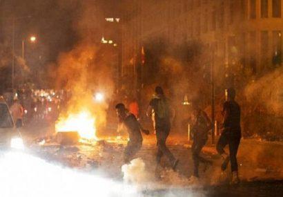 معترضان لبنانی خواستار محاکمه مقصران انفجار بیروت شدند