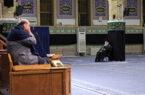 اولین شب مراسم عزاداری حضرت اباعبدالله (ع) با حضور رهبر انقلاب