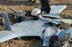 سقوط یک فروند پهپاد جنگ قرهباغ در خداآفرین