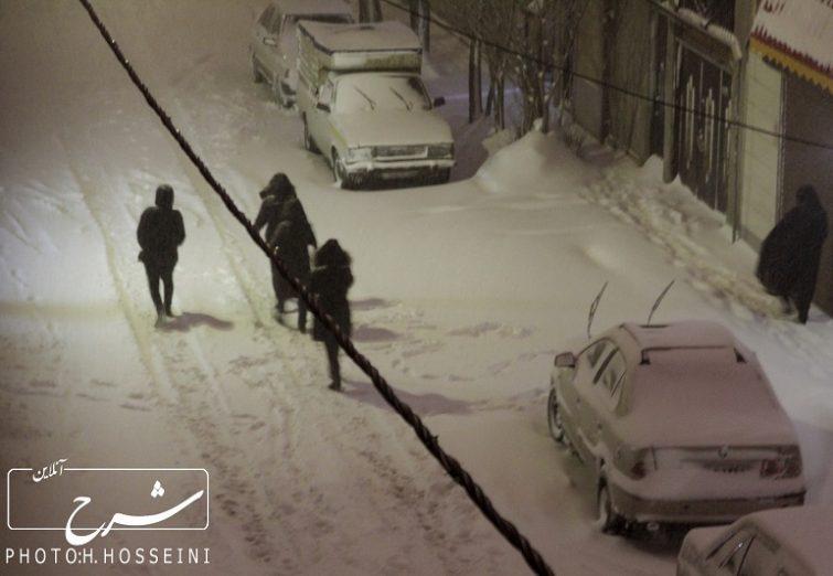 برف و حال و هوای این روزهای تبریز