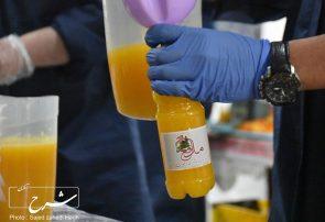 تهیه آب میوه طبیعی برای کادر درمانی بیمارستان های تبریز