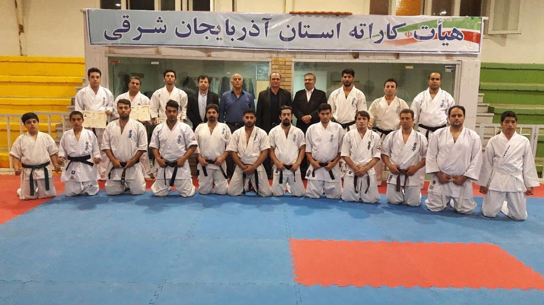آذربایجان شرقی مقام سوم مسابقات سوپر لیگ کاراته را کسب کرد