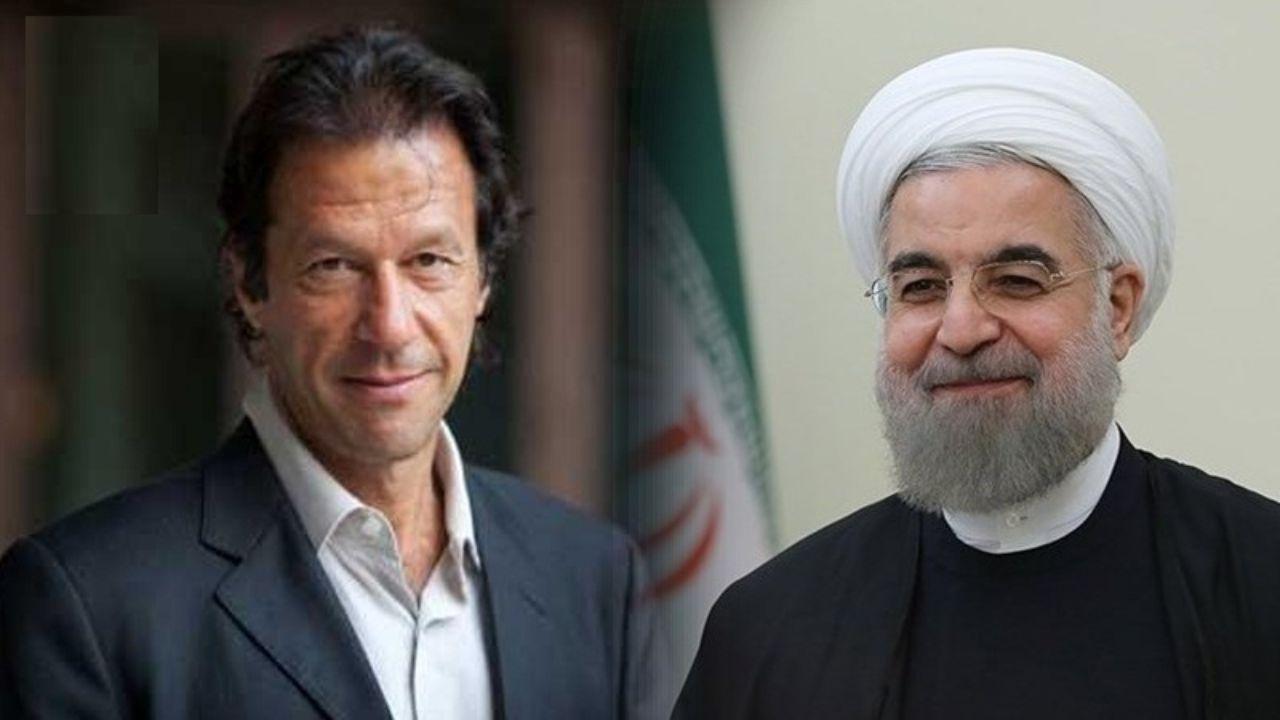 استقبال رسمی از عمران خان توسط روحانی