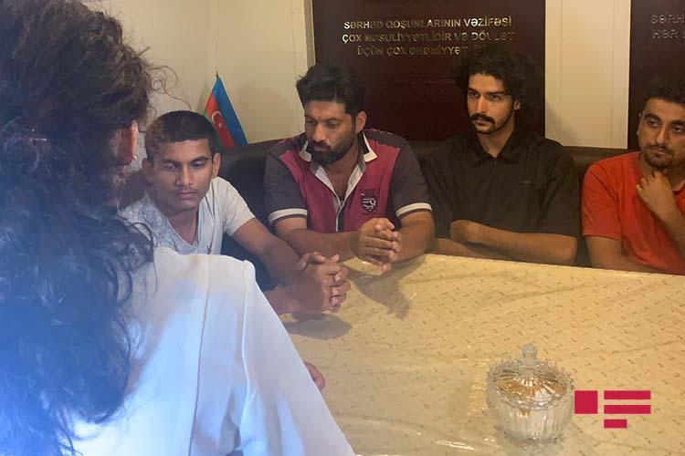خدمه نجات یافته کشتی شباهنگ به باکو اعزام شدند