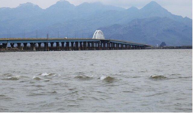 دریاچه ارومیه در آستانه افزایش ۲ متری ارتفاع سطح آب؛ وسعت دریاچه ۲ برابر شد