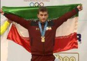 کسب سه نشان طلا، نقره و برنز توسط حسینی